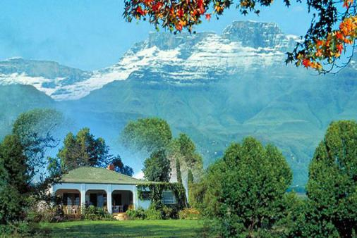 1/10 - Bed & Breakfast accommodation in Central Drakensberg
