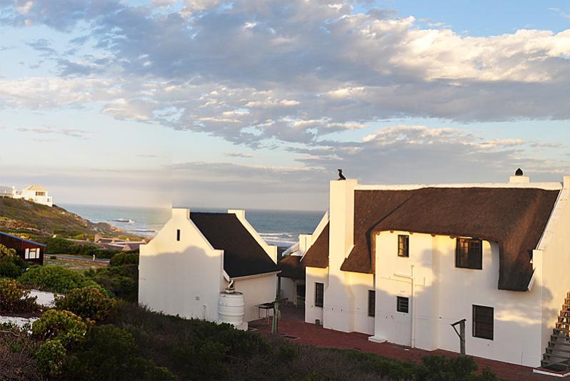 Back of large cottages