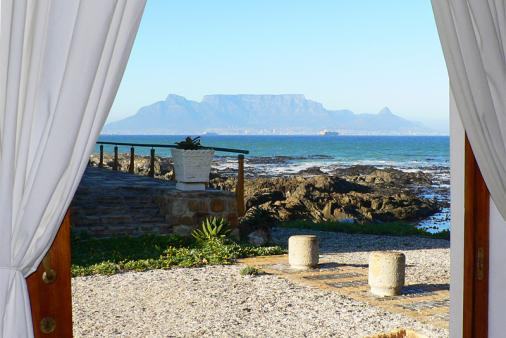 View of Blouberg Beach Cottage