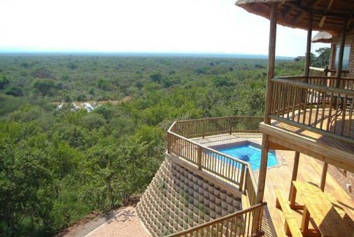 View of Baobab Lodge