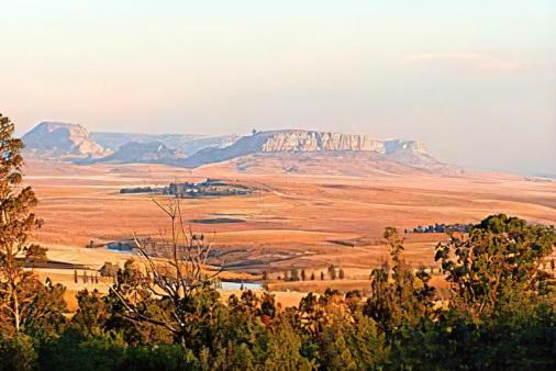 1/8 - View to Platberg in Harrismith