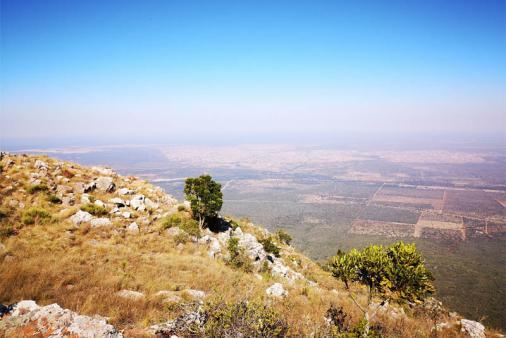 View of Buzzard Mountain Retreat