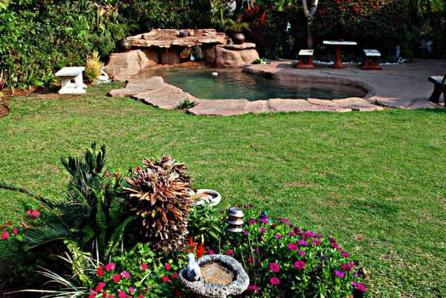 1/11 - Rock pool and garden view - Guest House Accommodation in Umhlanga Rocks