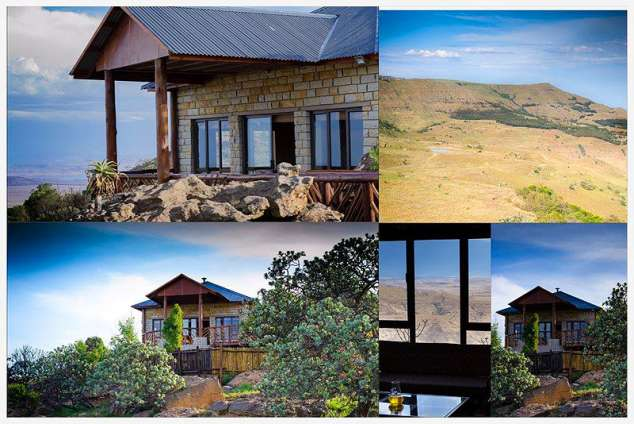 1/19 - Self Catering Cottage Accommodation in Oliviershoek Pass area, Northern Drakensberg