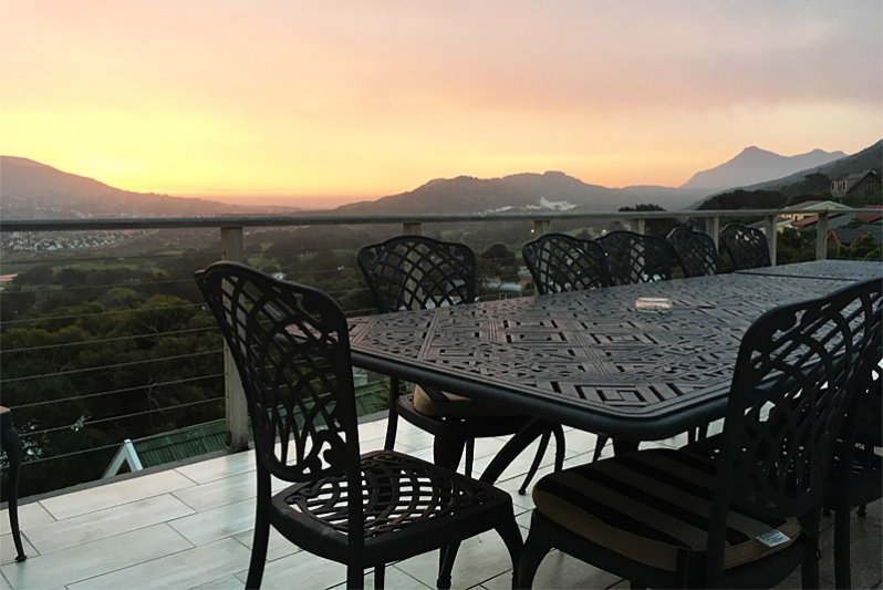 Beautiful Sunset from the main balcony