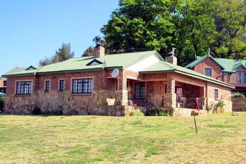 1/8 - Ellis Nest North Elevation - Self Catering House Accommodation in Dullstroom