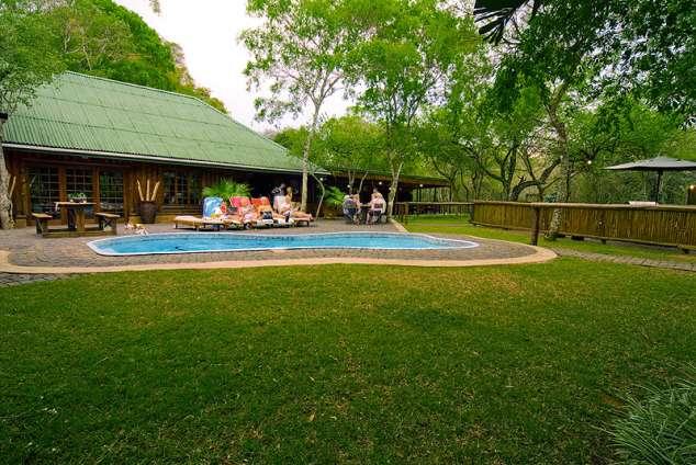 1/8 - Ezulwini Game Lodge - Self Catering Bush Lodge Accommodation in Hluhluwe