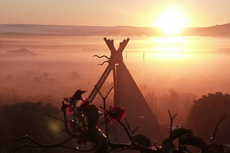 Breath-taking sunrises