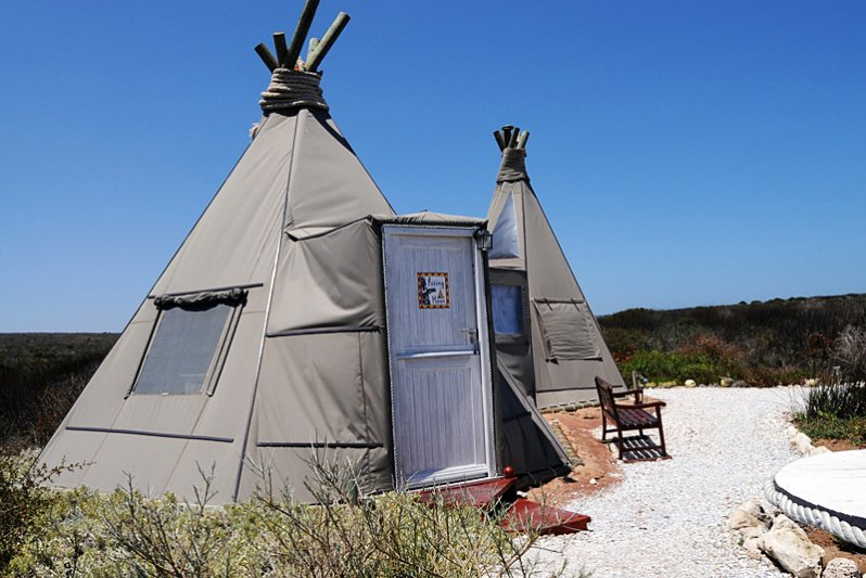 Wigwam Rising Moon ... different way of accommodation