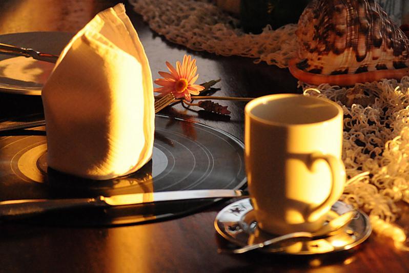 Enjoy your breakfast in style