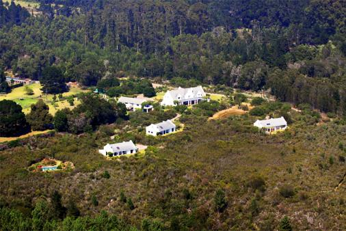 View of Fynbos Ridge Country House & Cottages