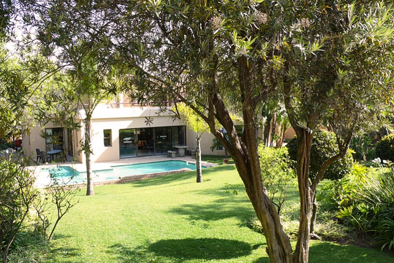 Main garden & Swimming Pool