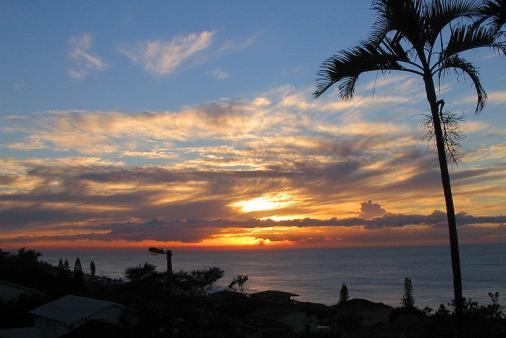 1/17 - Sunrise from Hilltop verandah