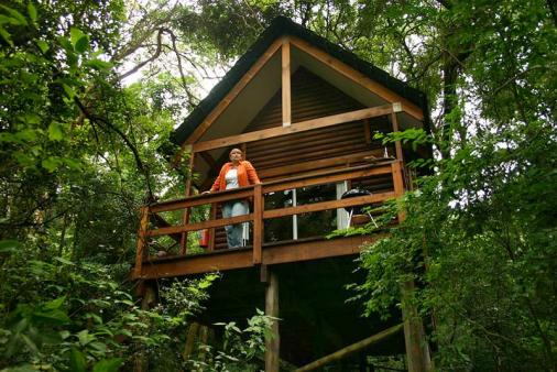 View of Kurisa Moya Nature Lodge