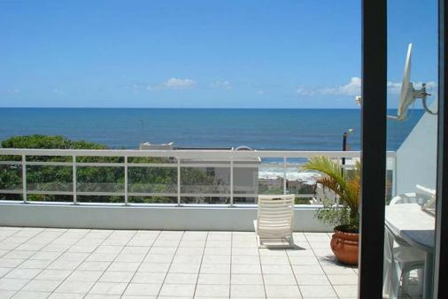 1/10 - Sea view from Sitting Room - Self Catering Apartment Accommodation in Uvongo