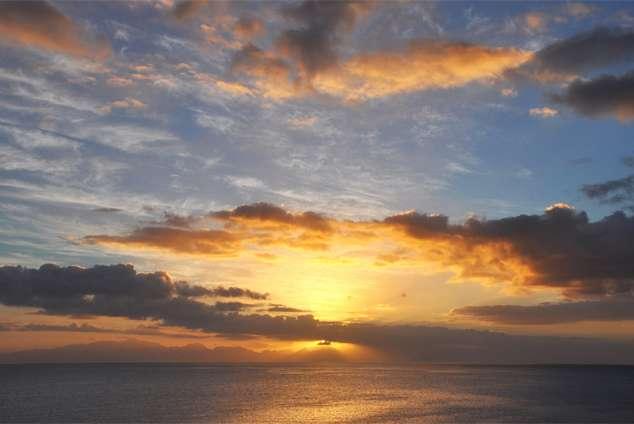 1/21 - sunrise from Lalapanzi