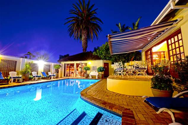 1/25 - Our beautiful pool by night