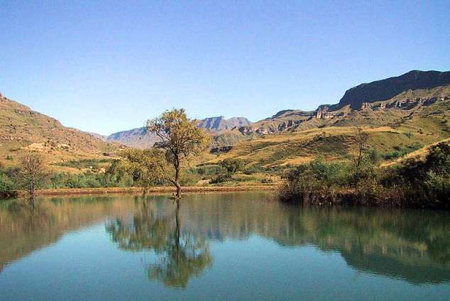 1/16 - Mkomazana Mountain Cottages - Self Catering Cottage Accommodation in Sani Pass, Drakensberg