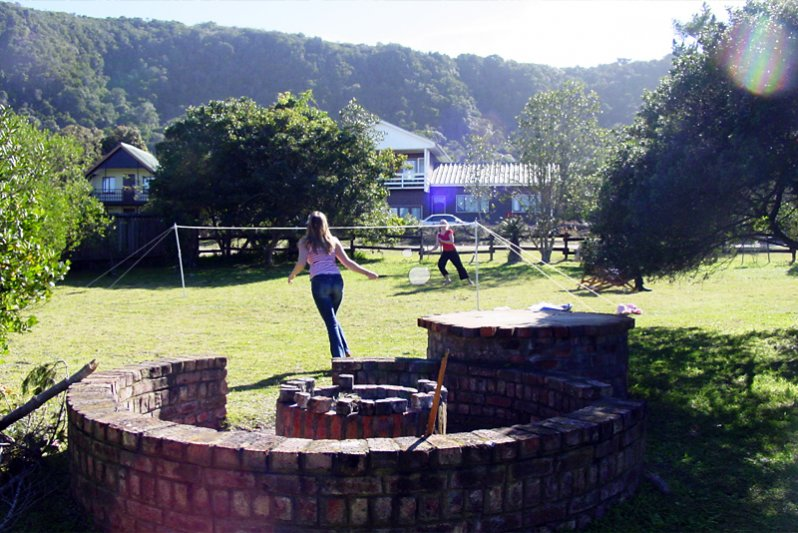 Garden and braai