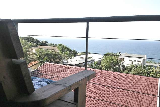 1/14 - Chalet Balcony - Self Catering accommodation in Brighton Beach, Bluff