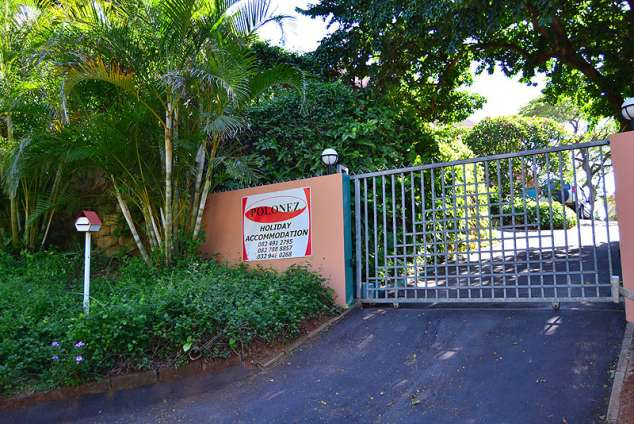 1/11 - Entrance Gate - Polonez Holiday Accommodation in Ballito