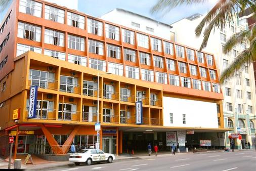 1/8 - Front Elevation of hotel - Hotel Accommodation in Durban