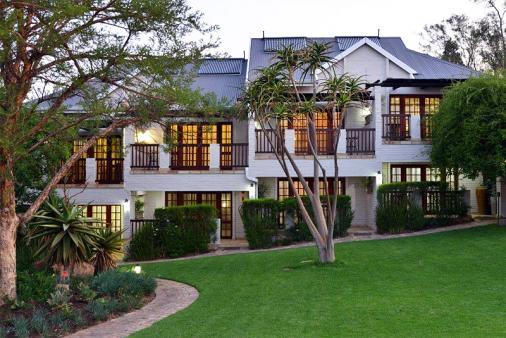 View of Rivonia Bed and Breakfast Garden Estate