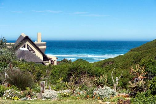 1/17 - View from Dolphin & Shelley decks - Cape St. Francis Self Catering Holiday Accommodation