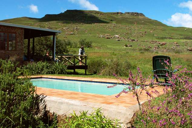1/23 - Sani Lodge guest pool with a view