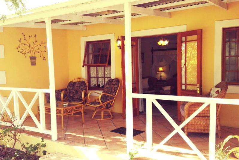 Victoria room patio
