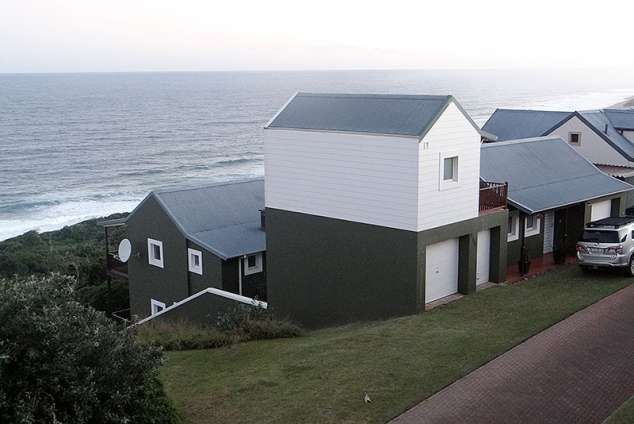 """1/25 - """"Sea-for-Africa"""", 255 Heathery Lane, View from across the road."""