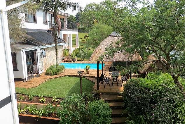 1/20 - Garden Cottage, S/C Suite & Pool area