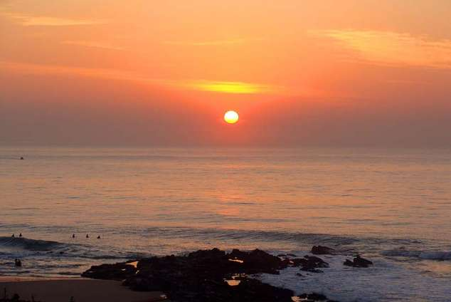1/12 - Sunrise from the balcony - Self Catering Apartment Accommodation in Ballito
