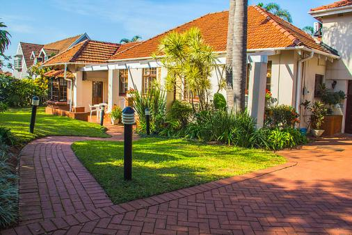 1/15 - Front of house - The Palms Bed & Breakfast Accommodation in Durban North