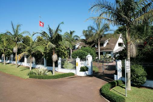 1/8 - Entrance - Self Catering Accommodation in Gillitts, Durban