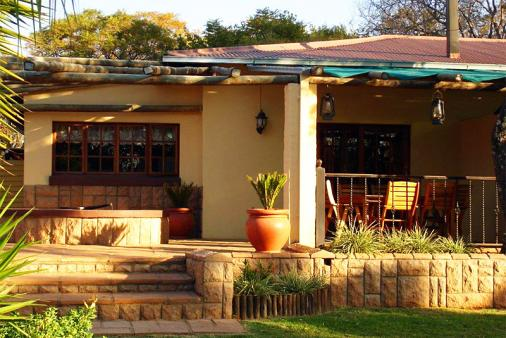 View of Thula Thula Lodge