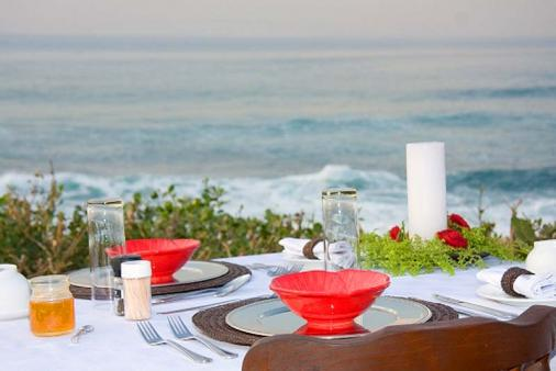 1/8 - Breakfast served great day on the beach - Bed & Breakfast Accommodation in Shelly Beach