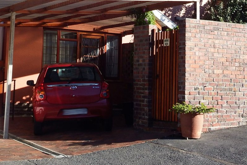 UPSTAIRS carport & entrance
