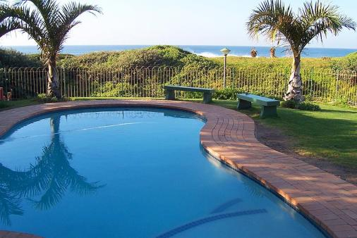 1/18 - View from the pool - Self Catering Apartment Accommodation in Shelly Beach, South Coast