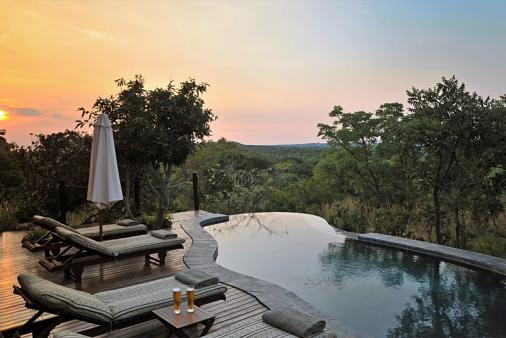 View of Zwahili Game Lodge