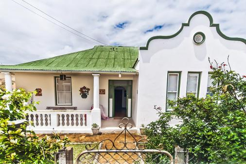 1/12 - The front of this delightful historical home