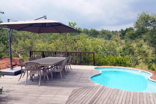 View of Milkwood Safari Lodge