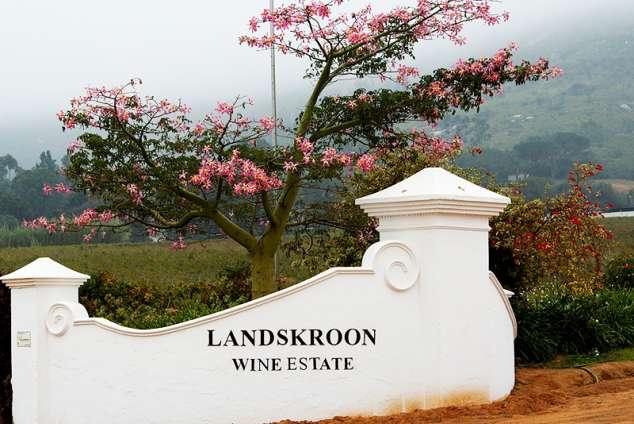 1/8 - Landskroon Wines Entrance Gate