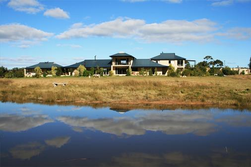 1/10 - View of Stanford River Lodge from the river