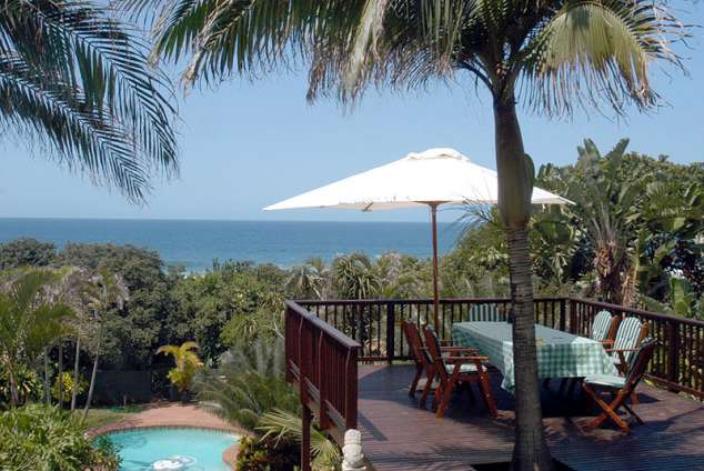1/25 - View from deck facing sea