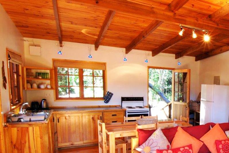 Vervet Forest Cabin - interior
