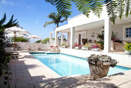 1/19 - Pool Patio - Star Graded Guest House Accommodation in Umhlanga Rocks