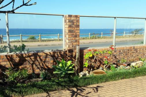1/8 - View from Patio - Self Catering Apartment Accommodation in Umdloti Beach