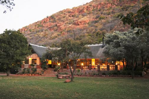 View of Mashovhela Bush Lodge