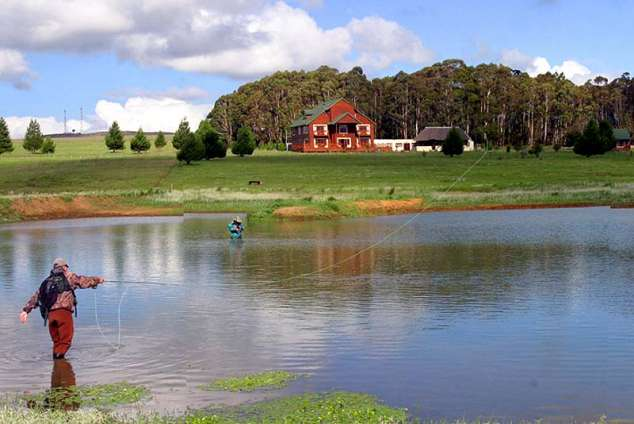 1/12 - Fly fishing - Self Catering Accommodation in Dullstroom, Mpumalanga